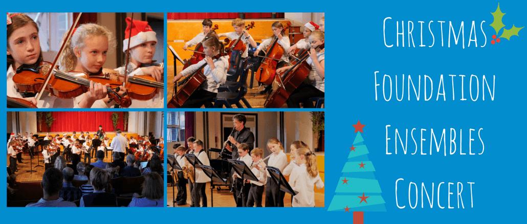 Foundation Ensembles Christmas Concert