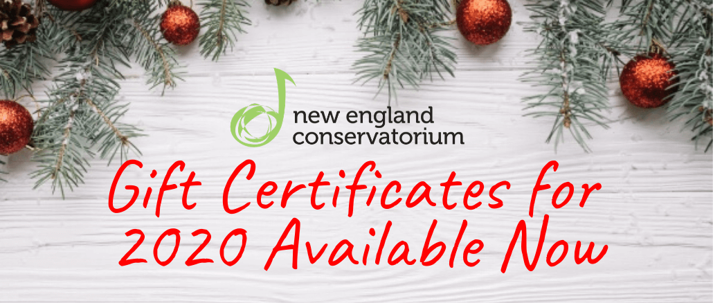NECOM Gift Certificates Available Now